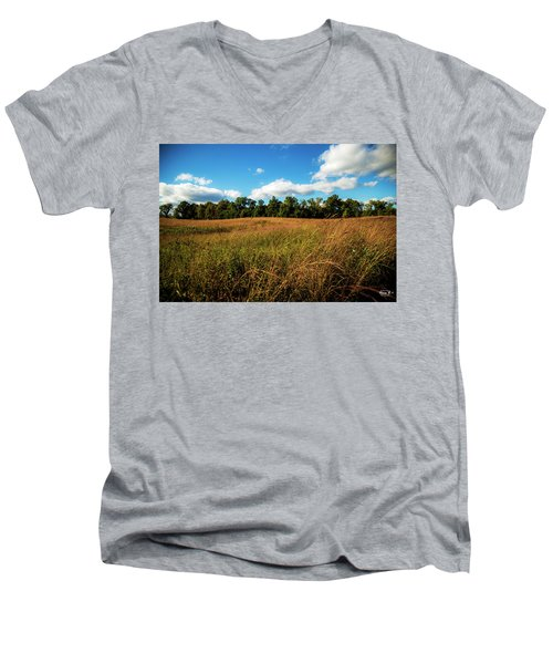 The Field Men's V-Neck T-Shirt