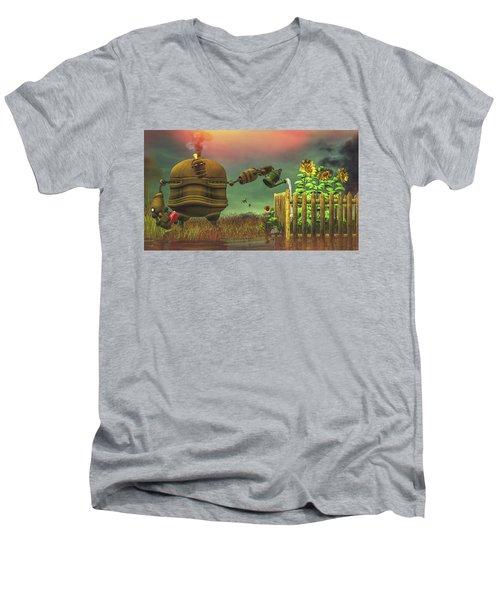 The Gardener Men's V-Neck T-Shirt