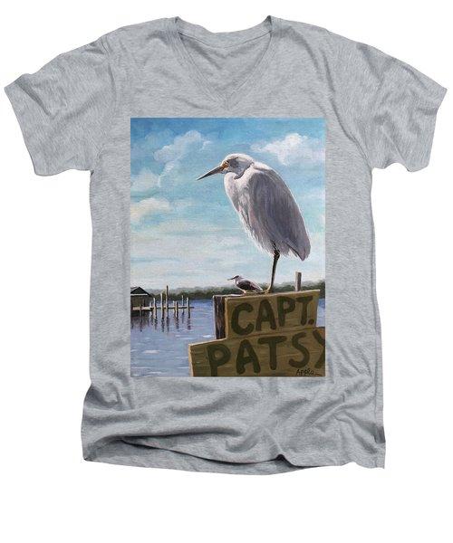The Guardians - Florida Oil Painting Men's V-Neck T-Shirt