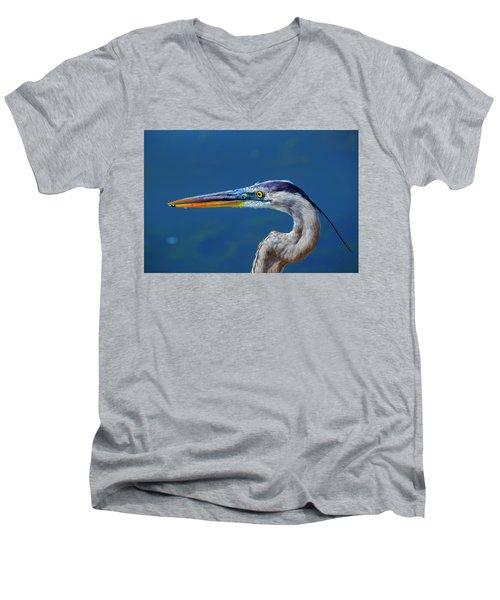 The Headshot Men's V-Neck T-Shirt