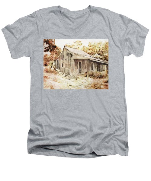 The Home Place Men's V-Neck T-Shirt