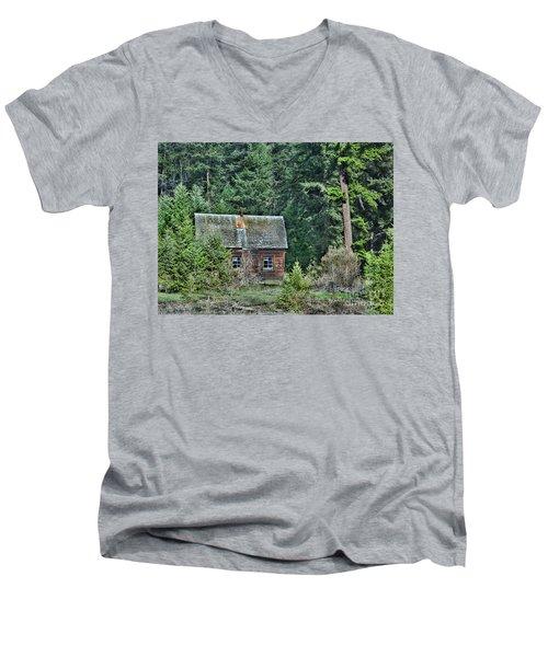 The Homestead Men's V-Neck T-Shirt