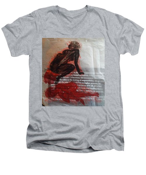 The Immolation Men's V-Neck T-Shirt