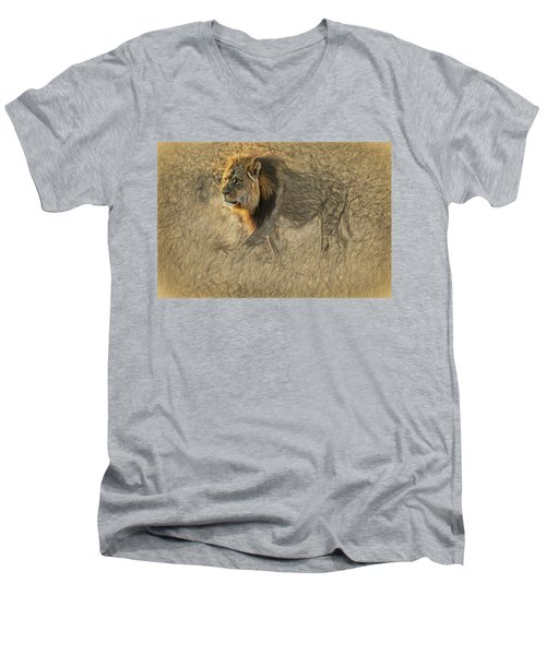 The King Stalks Men's V-Neck T-Shirt