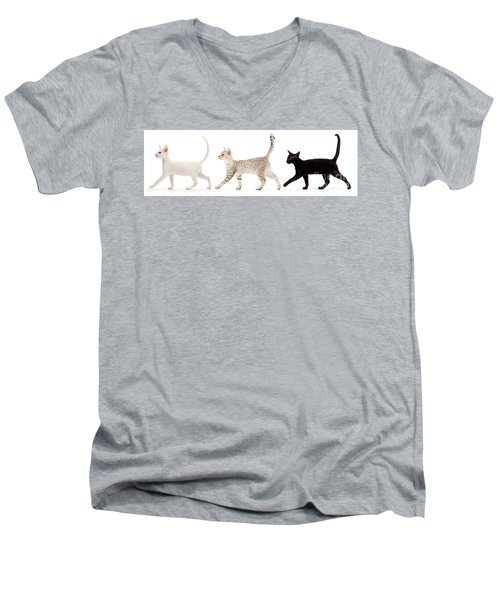 The Kits Parade - Three Men's V-Neck T-Shirt