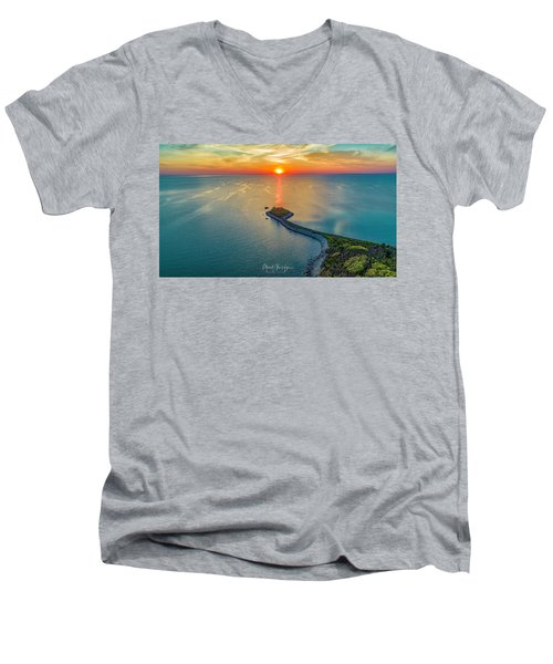 The Last Ray Men's V-Neck T-Shirt