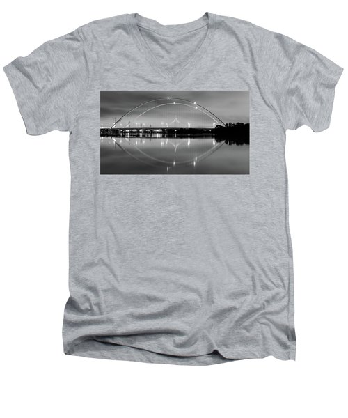 The Margaret Mcdermott Bridge Men's V-Neck T-Shirt