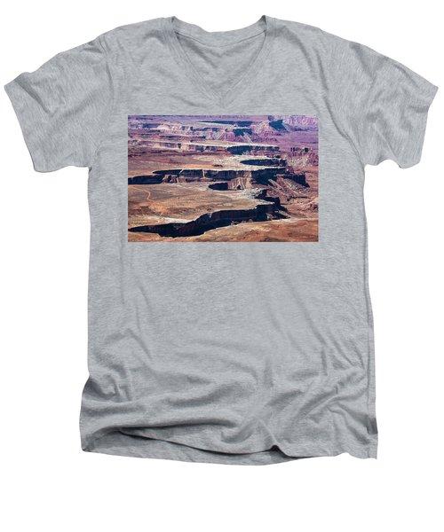 The Moon Men's V-Neck T-Shirt