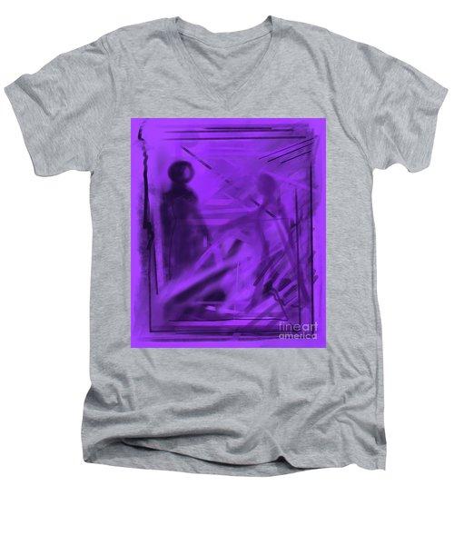 The Mystery Outside My Window Men's V-Neck T-Shirt
