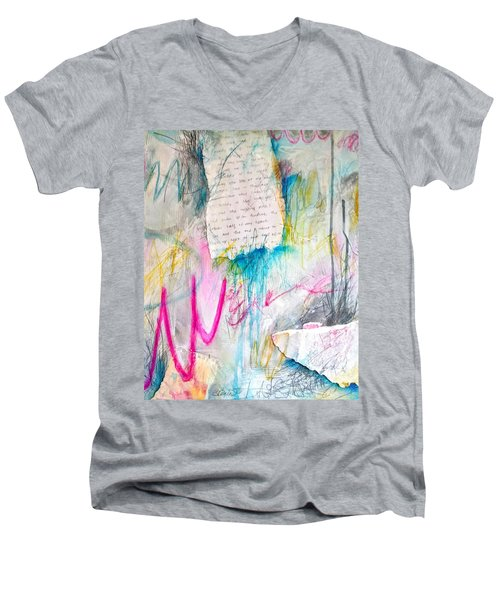 The Other Half Of My Heart Men's V-Neck T-Shirt
