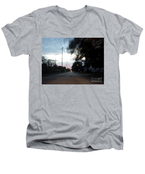 The Passenger 03 Men's V-Neck T-Shirt