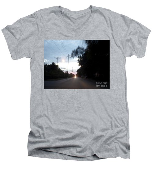 The Passenger 04 Men's V-Neck T-Shirt