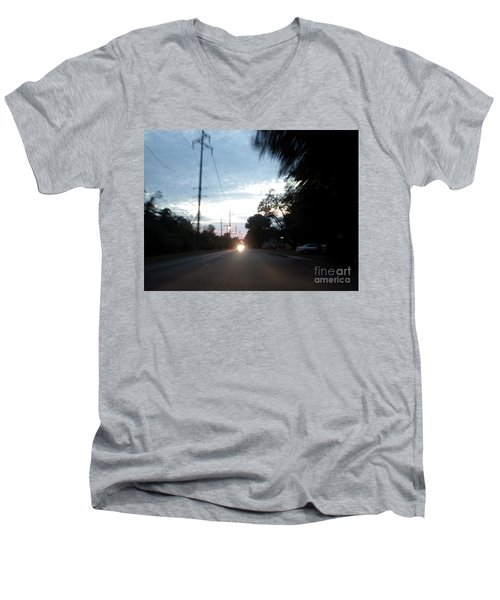 The Passenger 05 Men's V-Neck T-Shirt