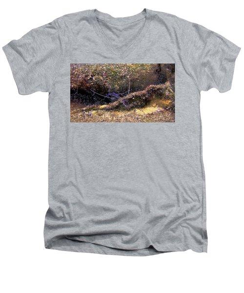 The Pederson Corkscrew Men's V-Neck T-Shirt