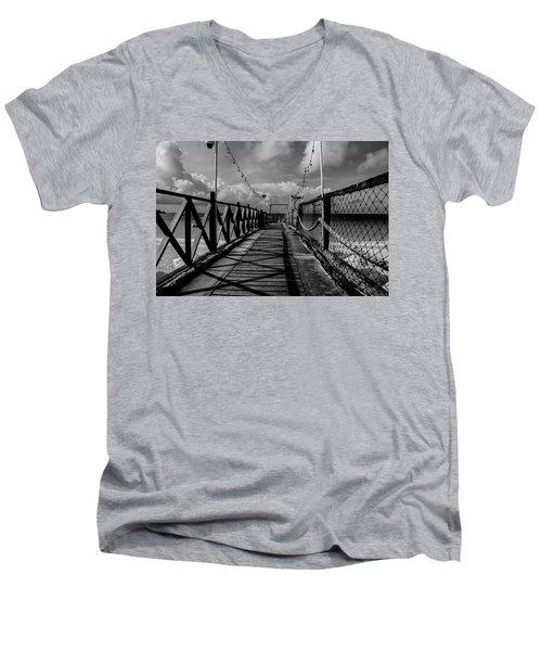 The Pier #2 Men's V-Neck T-Shirt