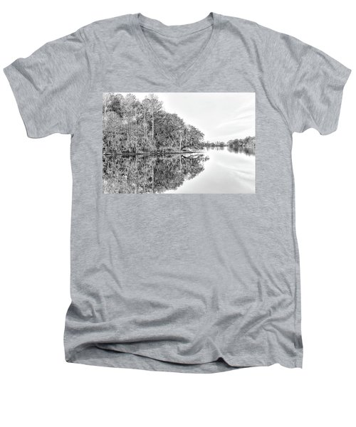 The Point At Coosaw Plantation Men's V-Neck T-Shirt
