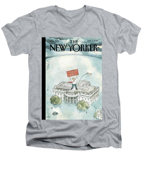 The Real Emergency Men's V-Neck T-Shirt