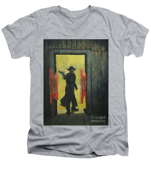 The Red Saloon Doors.....what Next Men's V-Neck T-Shirt