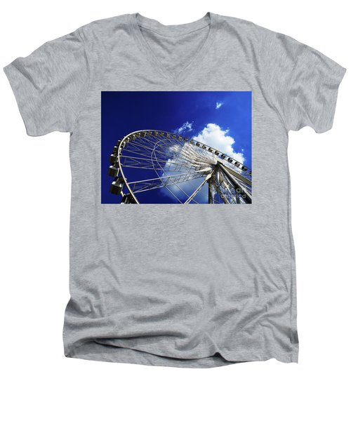 The Ride To Acrophobia Men's V-Neck T-Shirt