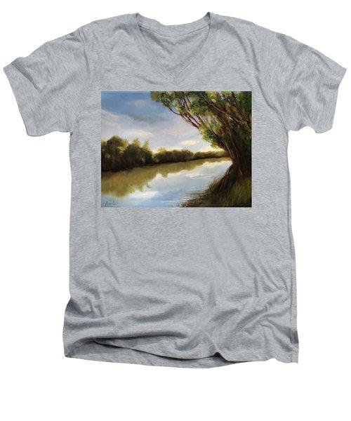 The River Men's V-Neck T-Shirt
