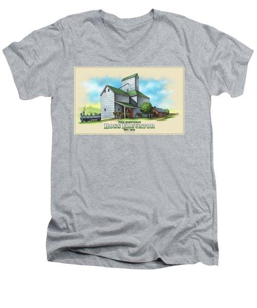 The Ross Elevator Men's V-Neck T-Shirt