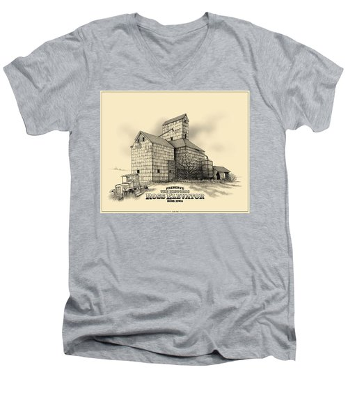 The Ross Elevator Version 2 Men's V-Neck T-Shirt