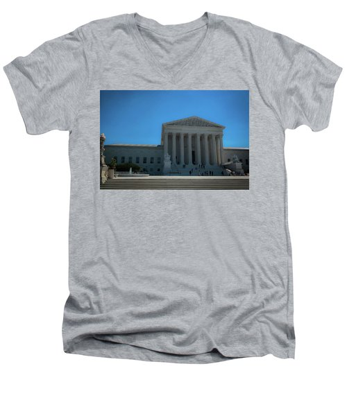 The Supreme Court Men's V-Neck T-Shirt