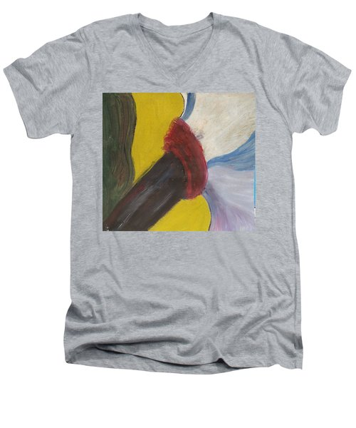 The Wind Blows And Things Fall Men's V-Neck T-Shirt