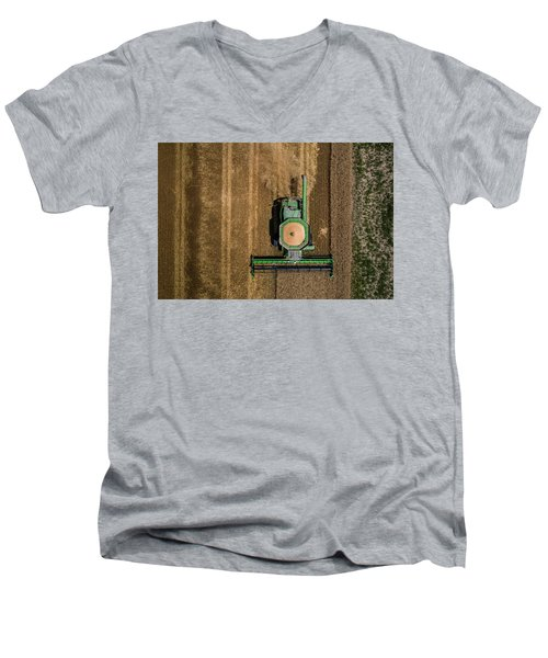 Through Wheat Men's V-Neck T-Shirt