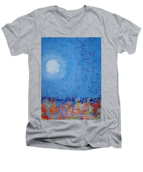 Tidepool Original Painting Sold Men's V-Neck T-Shirt