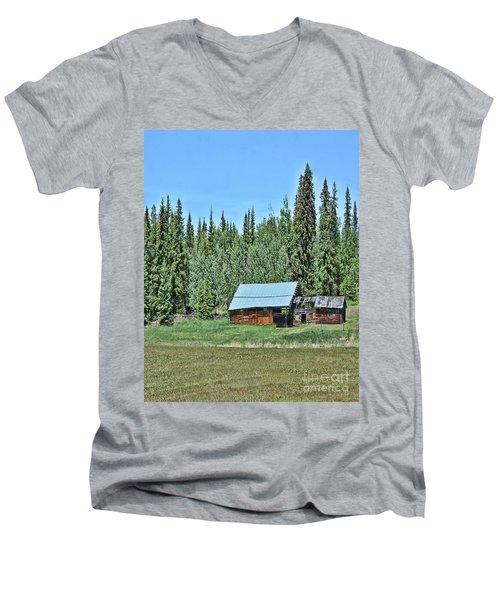 Too Late Men's V-Neck T-Shirt