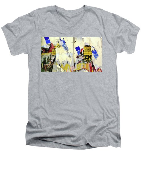Touched By Nature Men's V-Neck T-Shirt