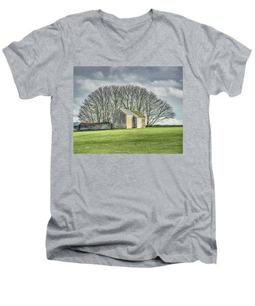 Tree Fan Men's V-Neck T-Shirt