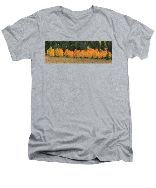 Tree Line Men's V-Neck T-Shirt