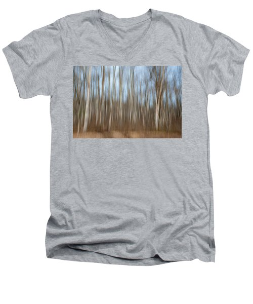 Trees In The Forest Men's V-Neck T-Shirt