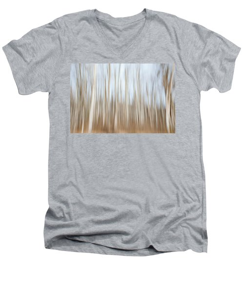 Trees On The Move Men's V-Neck T-Shirt