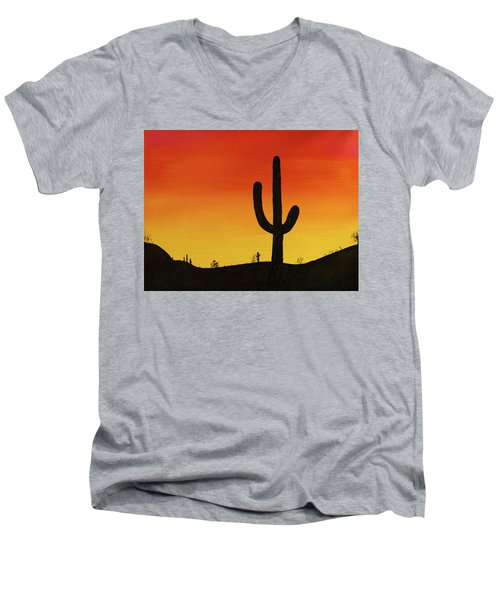 Truth Or Consequences Men's V-Neck T-Shirt