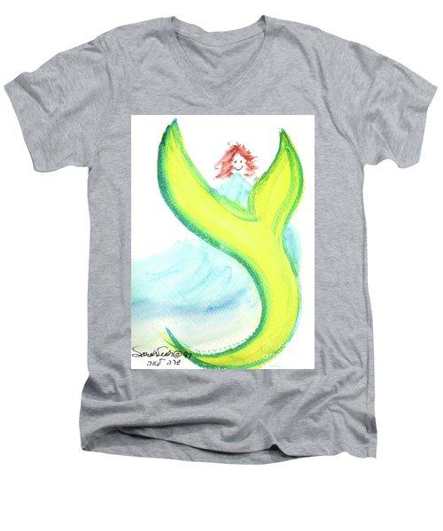 Tsee The Tsights On A Tsade Ts3 Men's V-Neck T-Shirt