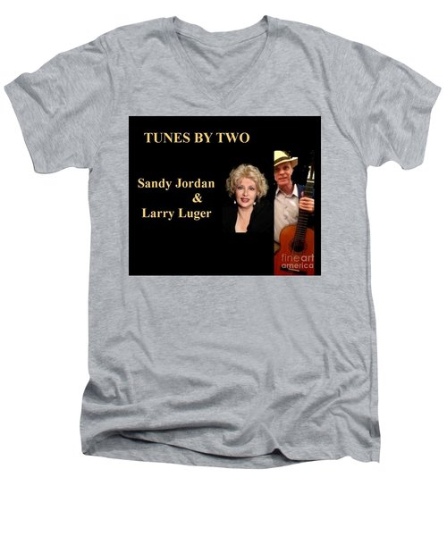 Tunes By Two Men's V-Neck T-Shirt