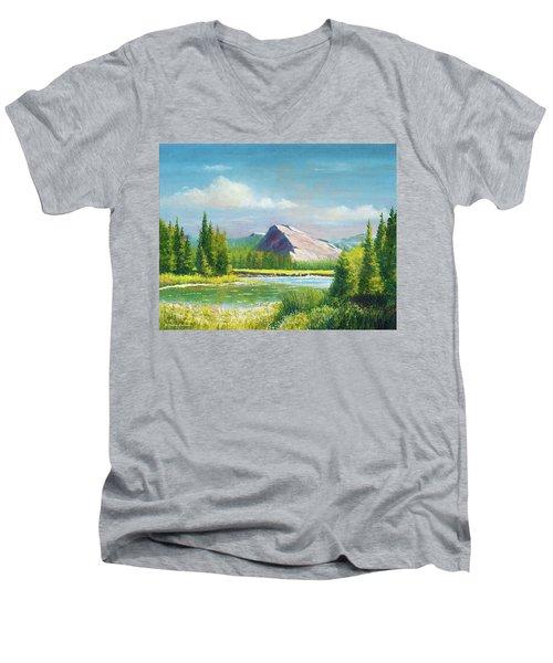 Tuolumme Meadows Spring Men's V-Neck T-Shirt