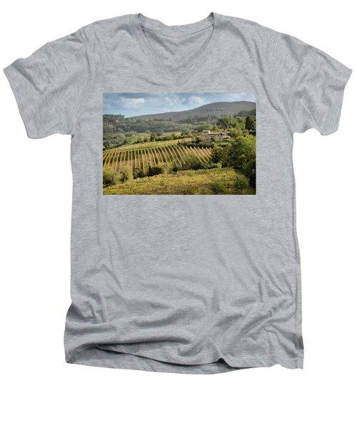 Tuscan Valley Men's V-Neck T-Shirt