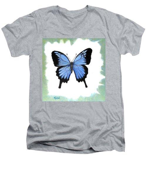 Ulysses Blue Men's V-Neck T-Shirt