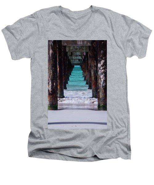 Under The Pier #3 Opf Men's V-Neck T-Shirt