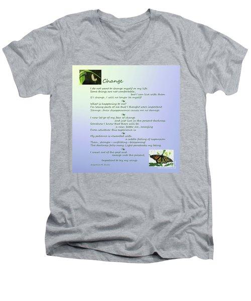 Unexpected Change Men's V-Neck T-Shirt
