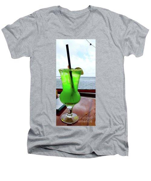 Vacation Medication Men's V-Neck T-Shirt
