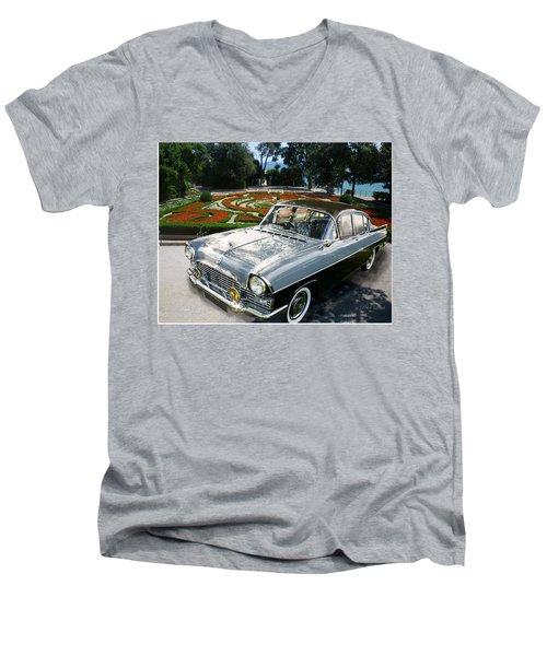 Vauxhall Cresta In Croatia Men's V-Neck T-Shirt