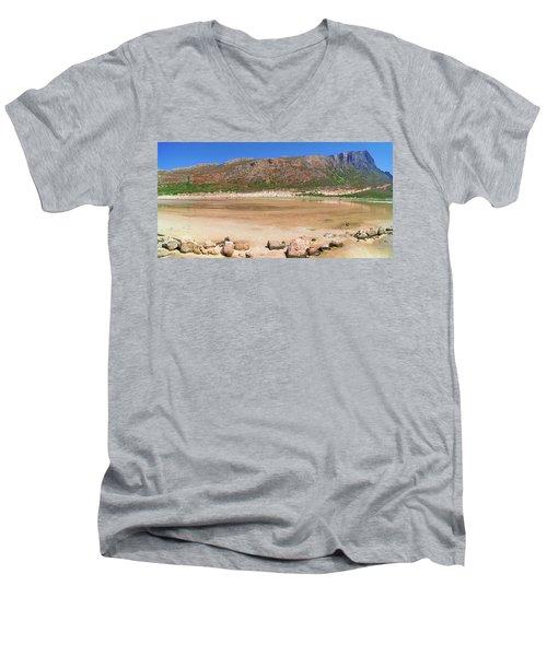 View To Gramvousa Men's V-Neck T-Shirt