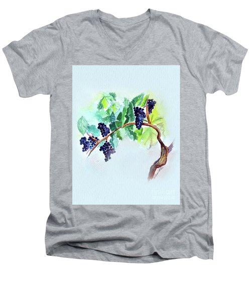 Vine And Branch Men's V-Neck T-Shirt