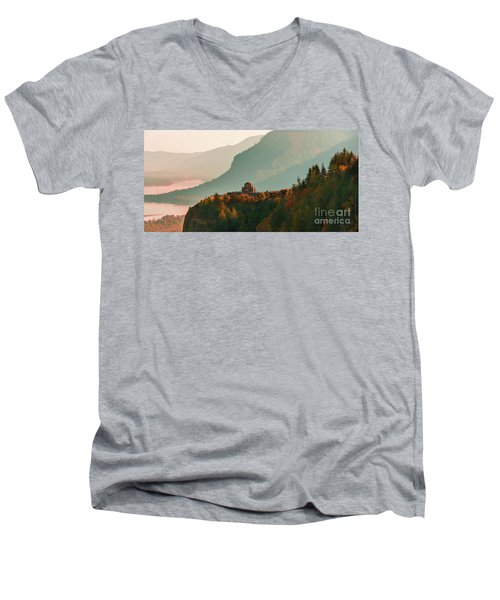 Vista House Men's V-Neck T-Shirt
