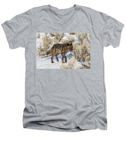W28 Men's V-Neck T-Shirt